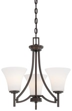 Minka-Lavery 4933-284 - 3 Light Mini Chandelier
