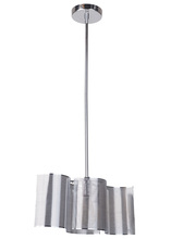 Craftmade 42091-CH - 1 Light Chrome Mini Pendant