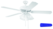 "Craftmade C203W - 52"" Ceiling Fan - Ceiling Fan Motor only - Blades sold separately"
