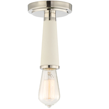 Crystorama 3800-PN - Crystorama Zodiac 1 Light Polished Nickel Ceiling Mount