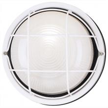 Westinghouse 6783600 - 1 Light Wall Fixture White Finish with White Glass Lens