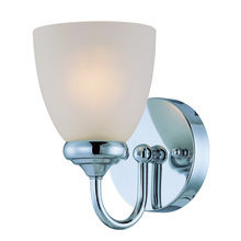Jeremiah 26101-CH - Spencer 1 Light Wall Sconce in Chrome