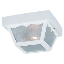 Sea Gull 7569-15 - Two Light Outdoor Ceiling Flush Mount