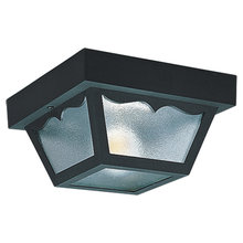 Sea Gull 7569-32 - Two Light Outdoor Ceiling Flush Mount