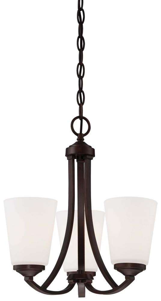Manteca Lighting in Manteca, California, United States,  W0PT, 3 Light Mini Chandelier, Overland Park