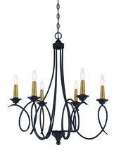 Minka-Lavery 4076-676 - 6 Lights Chandelier