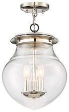 Minka-Lavery 4572-583 - 3 Light Semi Flush (Convertible To Mini Pendant)