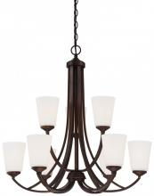 Minka-Lavery 4969-284 - 9 Light Chandelier