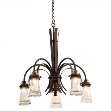 Kalco 2915AC - Dover 5 Light Chandelier