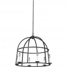 Kalco 506952BI - Wickenberg 6 Light Pendant