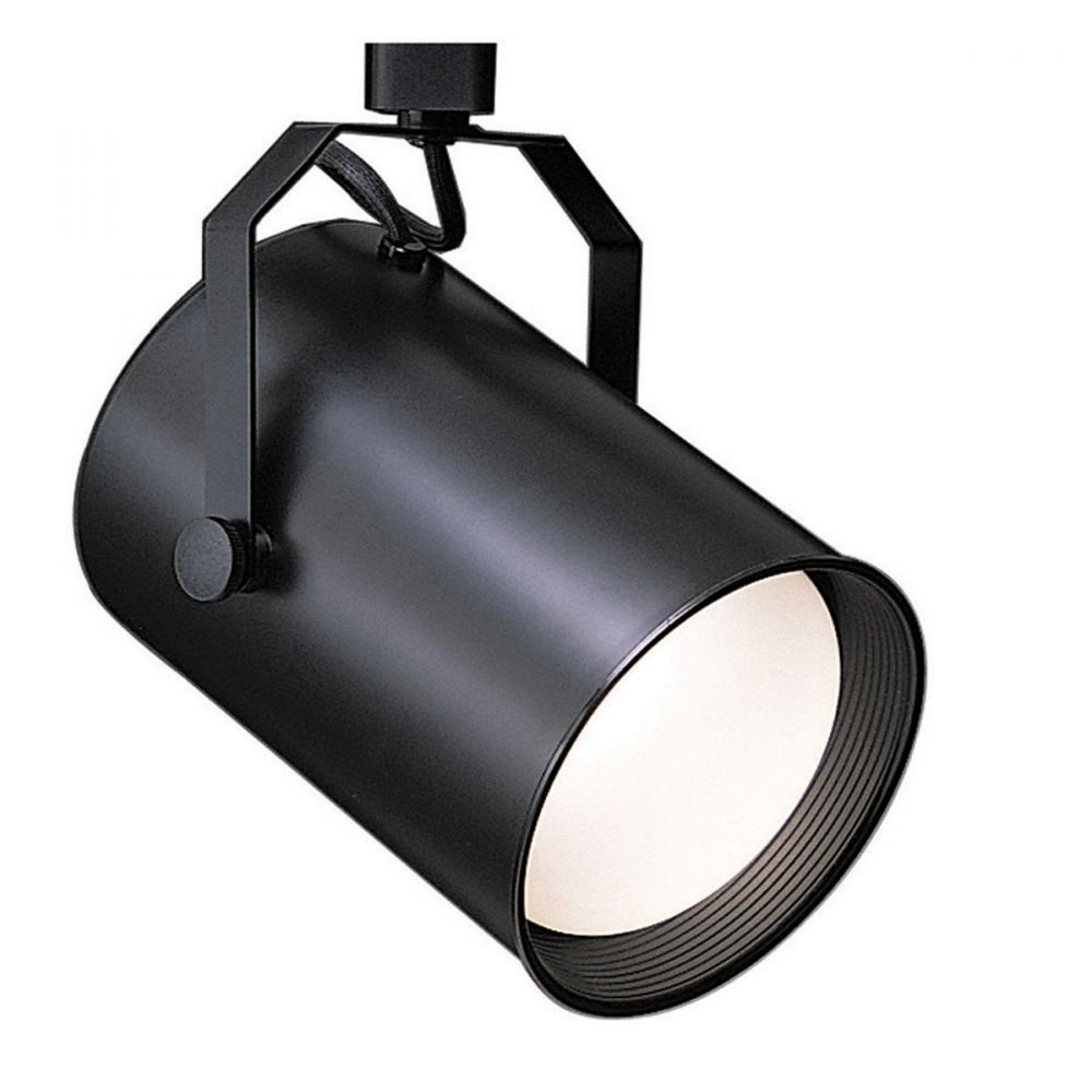 Manteca Lighting in Manteca, California, United States,  1036L8A, One Light Black Track Head,