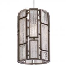 Varaluz 255M01NB - Harlowe 1-Lt Mini Pendant - New Bronze