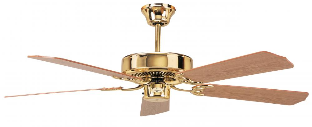 Manteca Lighting in Manteca, California, United States,  1452C, Concord By Luminance 42 Inch California Home Ceiling Fan - Polished Brass, California Home