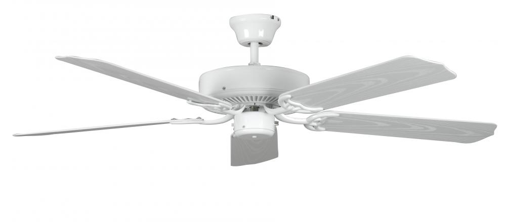 Manteca Lighting in Manteca, California, United States,  1451F, Concord By Luminance  52 Inch Porch Ceiling Fan - White, Porch
