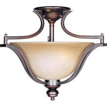 Maxim 10171WSOI - Madera 3-Light Semi-Flush Mount