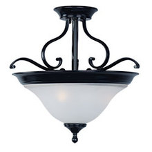 Maxim 11801ICBK - Linda 3-Light Semi-Flush Mount
