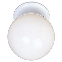 Maxim 5889WTWT - Essentials 1-Light Flush Mount