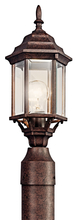 Kichler 49256TZ - Outdoor Post Mt 1Lt