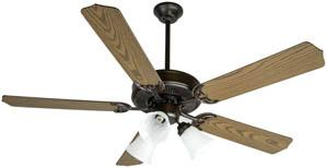 Pb - Polished Brass Fan Motor Without Blades