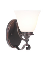 Craftmade 39801-OBG - Chelsea 1 Light Wall Sconce in Oil Bronze Gilded