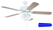 "Craftmade C205W - 52"" Ceiling Fan - Ceiling Fan Motor only - Blades sold separately"