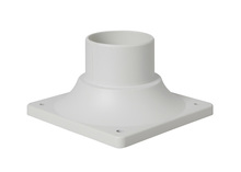 Craftmade Z202-04 - Light Matte White Post Head Adapter