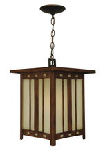 Craftmade Z3921-OBO - One Light Oiled Bronze Hanging Lantern