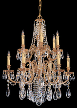 Crystorama 2712-OB-CL-MWP - Crystorama Novella 12 Light Clear Crystal Chandelier I