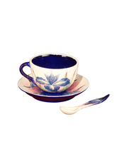 Dale Tiffany PA500218 - 5X3.5 IRIS CUP & SAUCER