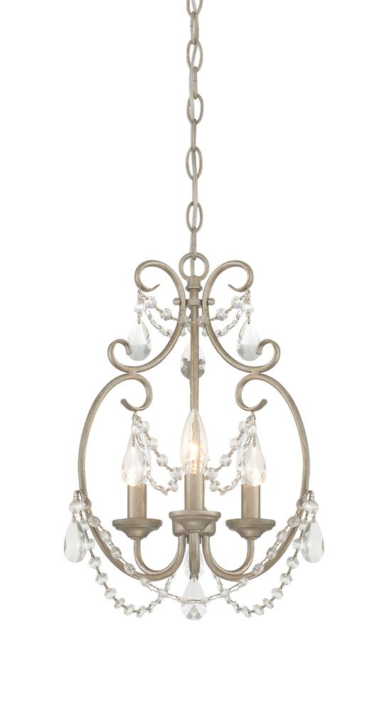 Manteca Lighting in Manteca, California, United States,  E481, Dahlia 3 Light Mini Chandelier, Dahlia