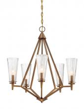Designers Fountain 88985-OSB - Montelena 5 Light Chandelier