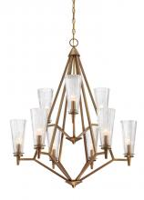 Designers Fountain 88989-OSB - Montelena 9 Light Chandelier