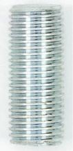 "Satco Products Inc. 90/2113 - Steel Nipple; Zinc plated; 1/4IP; 1/2"" Wide; 1-1/8"" Length"