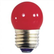 Westinghouse 0406700 - 7.5W S11 Incandescent Red E26 (Medium) Base, 120 Volt, Card