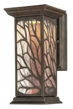 Westinghouse 6312000 - 1 Light LED Wall Fixture Victorian Bronze Finish with Clear Seeded Glass