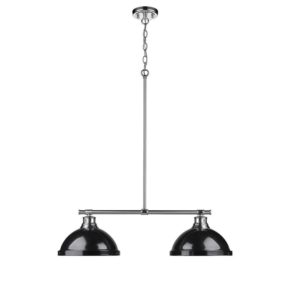2 Light Linear Pendant