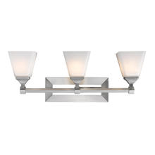 Golden 2112-BA3 PW-OP - 3 Light Bath Vanity