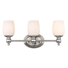 Golden 2115-BA3 PW-OP - 3 Light Bath Vanity