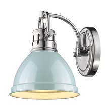 Golden 3602-BA1 CH-SF - 1 Light Bath Vanity