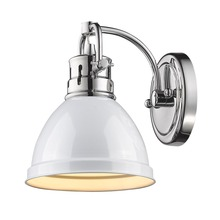 Golden 3602-BA1 CH-WH - 1 Light Bath Vanity