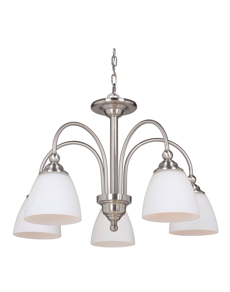 Manteca Lighting in Manteca, California, United States,  ECNV, 5 Light Down Chandelier, Brighton