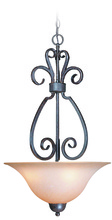 Jeremiah 22023-FM - Sheridan 3 Light Inverted Pendant in Forged Metal