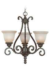 Jeremiah 22443-ET - Sutherland 3 Light Chandelier in English Toffee