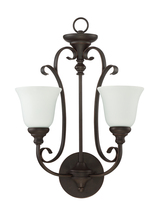Jeremiah 24222-MB-WG - 2 Light Wall Sconce