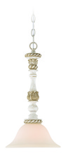 Jeremiah 27321-ATL - Zoe 1 Light Mini Pendant in Antique Linen
