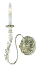 Jeremiah 27331-ATL - Zoe 1 Light Wall Sconce in Antique Linen