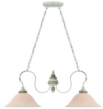 Jeremiah 27332-ATL - Zoe 2 Light Island in Antique Linen