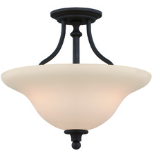 Jeremiah 28553-GB - Willow Park 3 Light Convertible Semi Flush/Pendant in Gothic Bronze