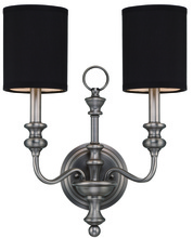 Jeremiah 28562-AN - 2 Light Wall Sconce