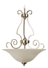Jeremiah 7118BN3 - Cecilia 3 Light Inverted Pendant in Brushed Satin Nickel